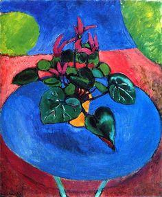 Henri Matisse ~ Cyclamen Pourpre, 1911-12
