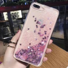 Mobile Phone Shell Quicksand Mobile Case Flash Powder Sequin Liquid Silicone T. -iPhoneXSMax Mobile Phone Shell Quicksand Mobile Case Flash Powder Sequin Liquid Silicone T. Girly Phone Cases, Glitter Phone Cases, Iphone Cases, Phone Covers, Mobiles, Coque Smartphone, Iphone 6plus, Handy Case, Floral Iphone Case