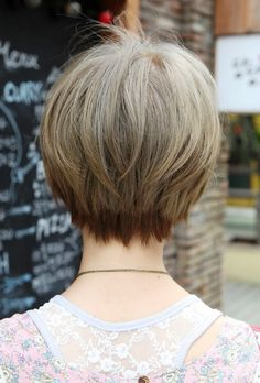 Check Out Long Bob Haircuts Back View. Usually, when you are choosing the next haircut, you only see the sides and the front of the model. What if you could see the back of the actual haircut?