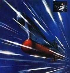 Space Battleship Yamato-Warp (aka the Argo from Starblazers