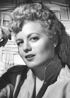 "Shelley Winters, 1950's (1920-2006). An American actress who appeared in dozens of films, as well as on stage and television; her career spanned over 50 years. A two-time Academy Award winner, Winters is probably most known for her roles in ""A place in the Sun"" (1951), ""The Night of the Hunter"" (1955), and ""The Poseidon Adventure"" (1972). Birth Name: Shirley Schrift. (Source: IMDb)"