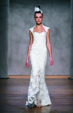 Monique Lhuillier - Amaranth Available at GIGI of Mequon in WI. www.gigiofmequon.com