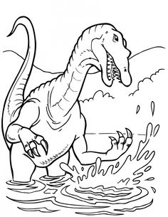 coloring pages dinosaurs t rex