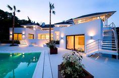 Top Home Designs | Beautiful 5 Bedroom Villa With Indoor & Outdoor Pool