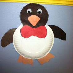 Projects to try paper plate penguin craft Preschool Projects, Daycare Crafts, Classroom Crafts, Preschool Crafts, Fun Crafts, Classroom Fun, Paper Plate Crafts, Paper Plates, January Crafts