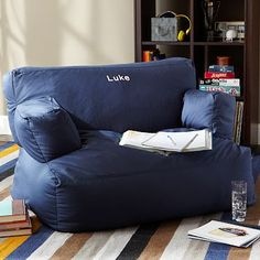 Double Solid Eco Lounger #pbteen