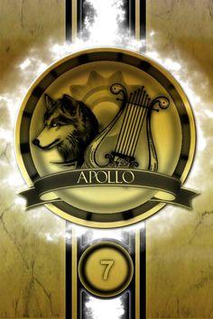 Apollo Cabin Golden Logo Poster by jimuelmaurer26