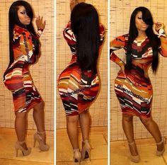 That dress is the BIZ!! ❤️