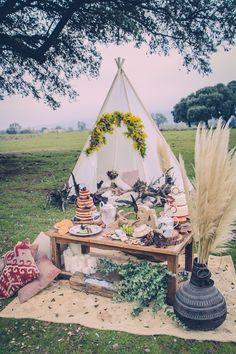 Tipi bodas rústicas