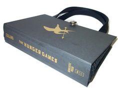 Hunger Games Book Purse   Book Handbag by retrograndma on Etsy, $85.00
