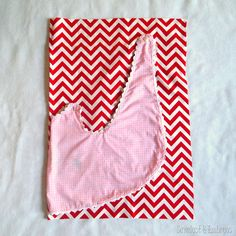 Tutorial for sewing a super simple wrap-around toddler dress {Sawdust and Embryos}