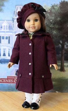 Early 1900's Lined wool Coat and hat | Flickr - Photo Sharing!