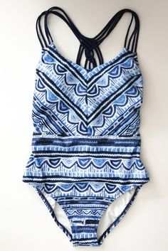 Nanette Lepore: All Tied Up One Piece Swimsuit