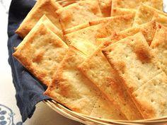 Cracker al Formaggio Bimby Antipasto, Biscotti, Crackers, Finger Foods, Apple Pie, Waffles, Sweets, Bread, Cookies