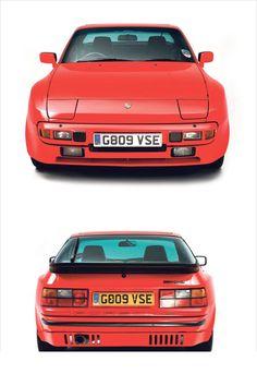 Porsche 944 UK ROW RHD spec