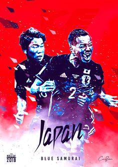 Blue Samurai WC 2018 Japan Japan World Cup, World Cup Russia 2018, World Cup 2018 Teams, Fifa World Cup, J Pop, Albert Camus, Sydney Leroux, Fifa Teams, Mens World Cup