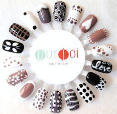 Purjoi Nail Studio by Purjoi from Nail Art Gallery Cute Nail Art, Gel Nail Art, Cute Nails, Manicure Y Pedicure, Nail Spa, Nails Decoradas, Nail Art Wheel, Nails 2015, Korean Nail Art