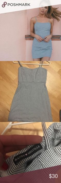 Brandy Melville striped Karla dress Vertical stripes Karla dress from Brandy Melville, never worn but no tags attached Brandy Melville Dresses Mini