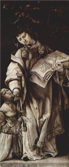 Matthias Grünewald, Detail, Heller Altarpiece, c. 1509 - 1511