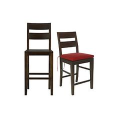 Basque Java Bar Stools and Cushion $269