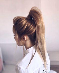 Best Ponytail Hair Tutorial Ever! Best Ponytail Hair Tutorial Ever! What a cute ponytail hair tutorial. I love this Hairstyle Ponytail Hairstyles Tutorial, Braided Hairstyles, Wedding Hairstyles, Ponytail Tutorial, Hair Ponytail, Quick Hairstyles, Girl Hairstyles, Cute Ponytails, Hair Upstyles