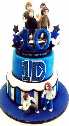 Yet another One Direction Cake. :-) 1D