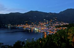 Soufrière, Saint Lucia - been here and loved it! Saint Lucia, Tropical Pool, Caribbean Vacations, Honeymoon Ideas, Night Life, Things To Do, Dolores Park, Cruise, To Go