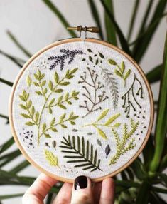 748 Best Embroidery Leaves images in 2019 | Embroidery leaf