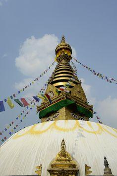 Swayambunath stupa Kathmandu   #Nepal #Travel #Photography