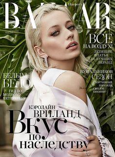 Caroline Vreeland for Harper's Bazaar Russia June 2016 | Art8amby's Blog