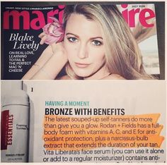 Press today for R+F's foaming self tanner