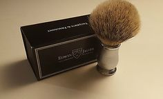 Edwin jagger chatsworth #barley #super badger #shaving brush,  View more on the LINK: http://www.zeppy.io/product/gb/2/331733873368/