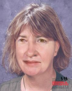 """Missing Girl: Megan Siobhan Emerick -- AK -- 07/07/1973; Hair:  Brown  Eyes:  Hazel  Height:  5'4"""" (163 cm)  Weight:  120 lbs (54 kg)  Megan's photo is shown age-progressed to 51. She was last seen on July 7, 1973. Megan's front teeth protrude. She was last known to be wearing blue jeans, a white long sleeve checkered shirt, a brown short sleeve sweatshirt, and suede ski boots.     Contact Information:  Seward Police Department(Alaska)   1-907-224-3338"""