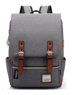 Tibes Laptop Rucksack für Unisex,29CMx13.5CMx43CM,16 zoll Hellgrau: Amazon.de: Schuhe & Handtaschen