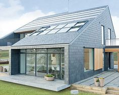 In around 30 years time, this house will be energy-neutral because it actually makes more electricity than it uses. The Danish Active House is covered in solar panels and cells while computer-operated windows regulate the internal temperature. #Green #GreenHomes #EMA