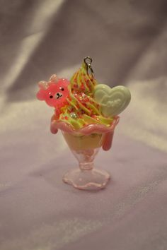 Kawaii Love Bear Scented Parfait Necklace by SweetPoisonCupcake, $12.00