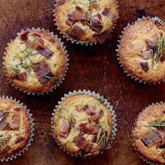 I wouldn't argue with a hit of jalapeno in these... Bacon-Cheddar Muffins http://www.epicurious.com/recipes/food/views/bacon-cheddar-muffins-51256440