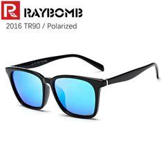 20849d375f1b3 RAYBOMB – 2016 NEW TR90 Frame   REVO Polarized Lenses Sunglasses Men Women  Brand Sun glasses