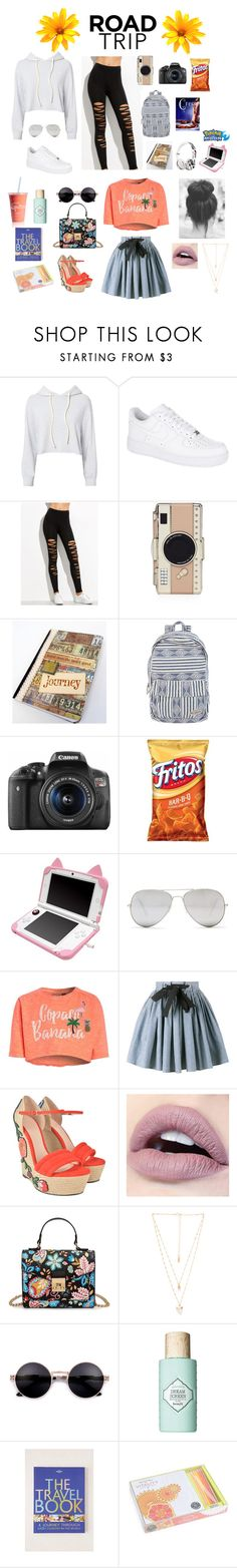 """🌻Spring / Summer Road Trip🌻"" by heaven-cedeno ❤ liked on Polyvore featuring Monrow, NIKE, Kate Spade, Billabong, Eos, Beats by Dr. Dre, Sunny Rebel, Miu Miu, Gucci and Natalie B"