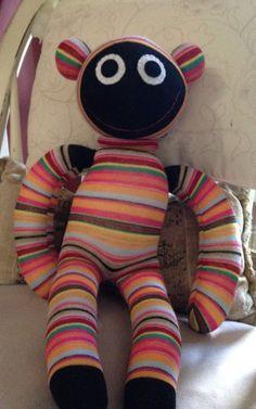 Sock monkey bought at Upmarket in April