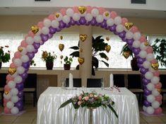 "Результат пошуку зображень за запитом ""арки з шаров"" Balloon Arch, Balloons, Wedding Ballons, Entry Gates, Globe Decor, Table Arrangements, Arches, Decorations, Entrance Gates"