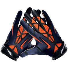 Nike Denver Broncos Vapor Jet 2.0 Team Authentic Series Gloves 2