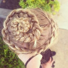 Suggested from a dance mom with an eye for great braids!