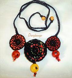 Darghamyo designs: Collar étnico con semillas