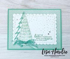 Christmas Card Crafts, Christmas Tree Cards, Stampin Up Christmas, Christmas Minis, Holiday Cards, Christmas Cards, Fancy Fold Cards, Folded Cards, Whimsical Christmas Trees