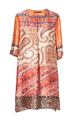 Image 5 of PRINTED TUNIC DRESS from Zara