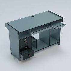 Computer Table 3D 3Ds - 3D Model