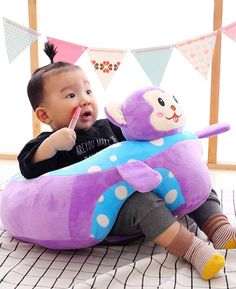 Baby Sofa Chair Infant Support Seat that has super soft cushion and help your little one to sit up and stabilize that back and neck in pure comfort. Baby Sofa Chair, Cool Inventions, Cute Babies, Children, Kids, Unique Gifts, Infant, Cushions, Pure Products