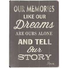Our Memories Wall Art