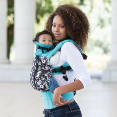 091639fec17 LILLEbaby COMPLETE ALL SEASONS Baby Carrier - This ingenious carrier has a  temperature-control panel that zips down exposing a mesh panel for hot  summer ...